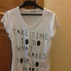 T-shirt βισκόζη