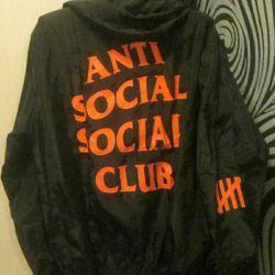 Αντιανεμικό αδιάβροχο Anti Social Social Club xxl xl