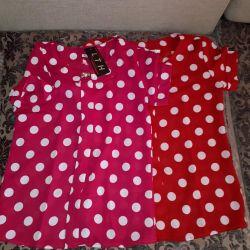 New women's blouses.