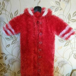 Warm Kovta-cardigan for girls