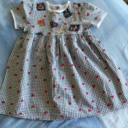 Продам ситцевое платьице на вашу малышку