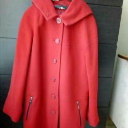 Παλτό 44-46 με κουκούλα