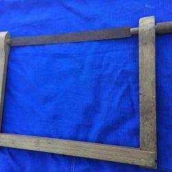 Wooden hacksaw