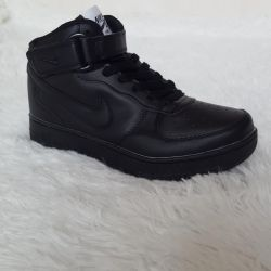 Yeni sneakers Nike Air Force black 💪🏼👍🏼🔥
