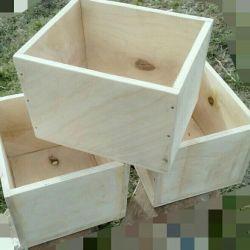 Dulapuri de flori lemn, placaj 1 cm