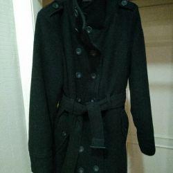 Coat / Trench / Pea jacket warmed.