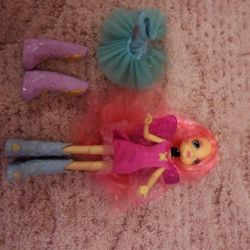 Mayle pony doll + dress + boots