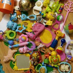 Обмен Пакет игрушек кукол машинок погремушек