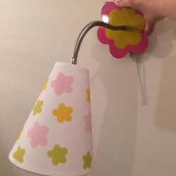 Children's chandelier and sconce lamp Odeon
