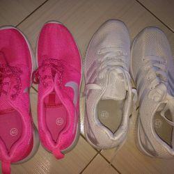 yeni spor ayakkabısı 39-40 s. akciğerler. Yumuşak. rahat.