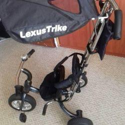 Bir bisiklet şirketine Lexus Trike vereceğim