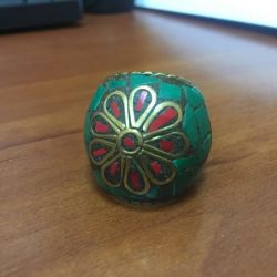 Ring, bijouterie, India