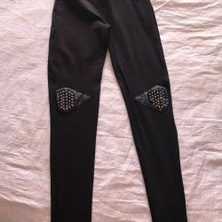 Leggings with spikes