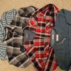 Рубашки р.164 Финляндия