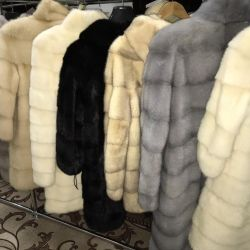 Mink fur coat great choice