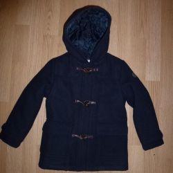Coat Brums half-woolen demi-season, r. 98