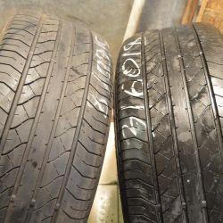 İki yaz lastiği Dunlop 235-60-18
