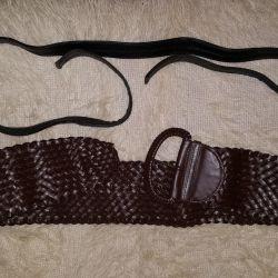 Belt and belt