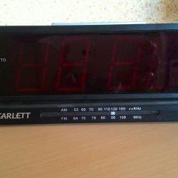 Ρολόι, ραδιοφωνικός δέκτης.