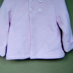 Νέο παλτό από ζακέτα