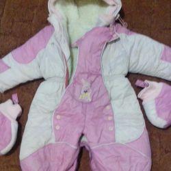 kombez winter pink 1-2 years