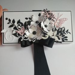 Chanel style gift box for money