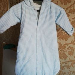Overalls - a sleeping bag warmed, 63-68