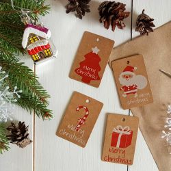 New Year tags