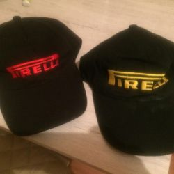 Two sports caps and two hats for girls