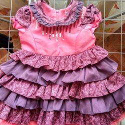 Kutlama için elbise 74 r
