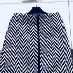 Крутая юбка с замком спереди