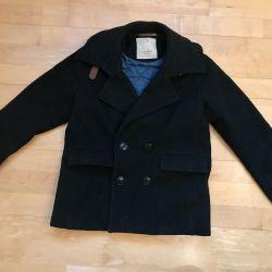 Jacheta jumătate de pălărie din Zara pe băiat