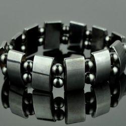 магнітний гематитові браслет (новий)