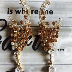 Εκπληκτικά ινδικά σκουλαρίκια