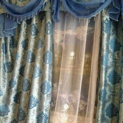 New curtains and lambrequin