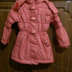Jacket on fleece