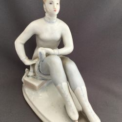Figurina Portelan Figurina patinator LFZ