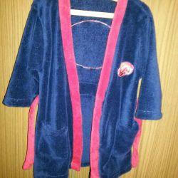 bathrobe for the boy