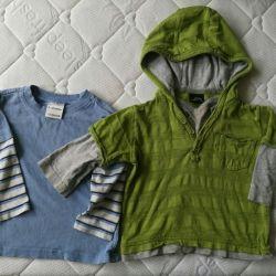 Φούτερ και μπλουζάκι για αγόρι, 6 τεμ. Πακέτο