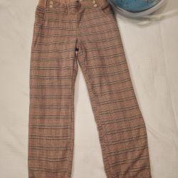 Pantaloni calde acoola dimensiune 128-134