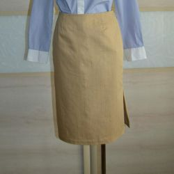 Gerard Darel S skirt, new cotton and synthetics