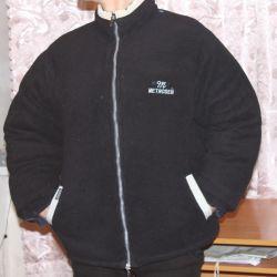 Двусторонняя зимняя куртка M-L размер