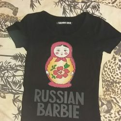 T-shirt Rus Barbie
