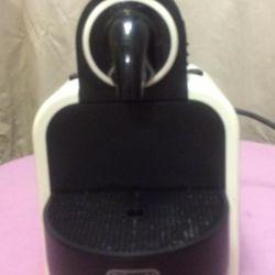 Capsule coffee machine. De'longhi nespresso