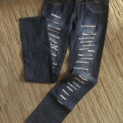 Брендовые джинсы треши