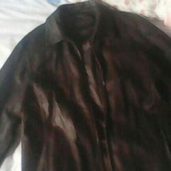 Leather jacket husband, 52-54razm, 2016. Korea