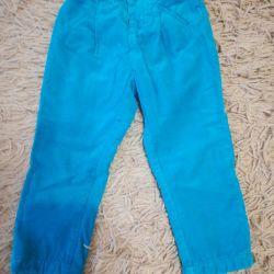 Pantaloni pe o căptușeală pentru soluția fetei 92