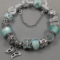 Bracelet in the style of Pandora 0440