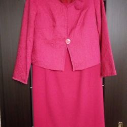 dress with jacket r.52