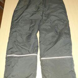 Болоневые зимние штаны для девочек
